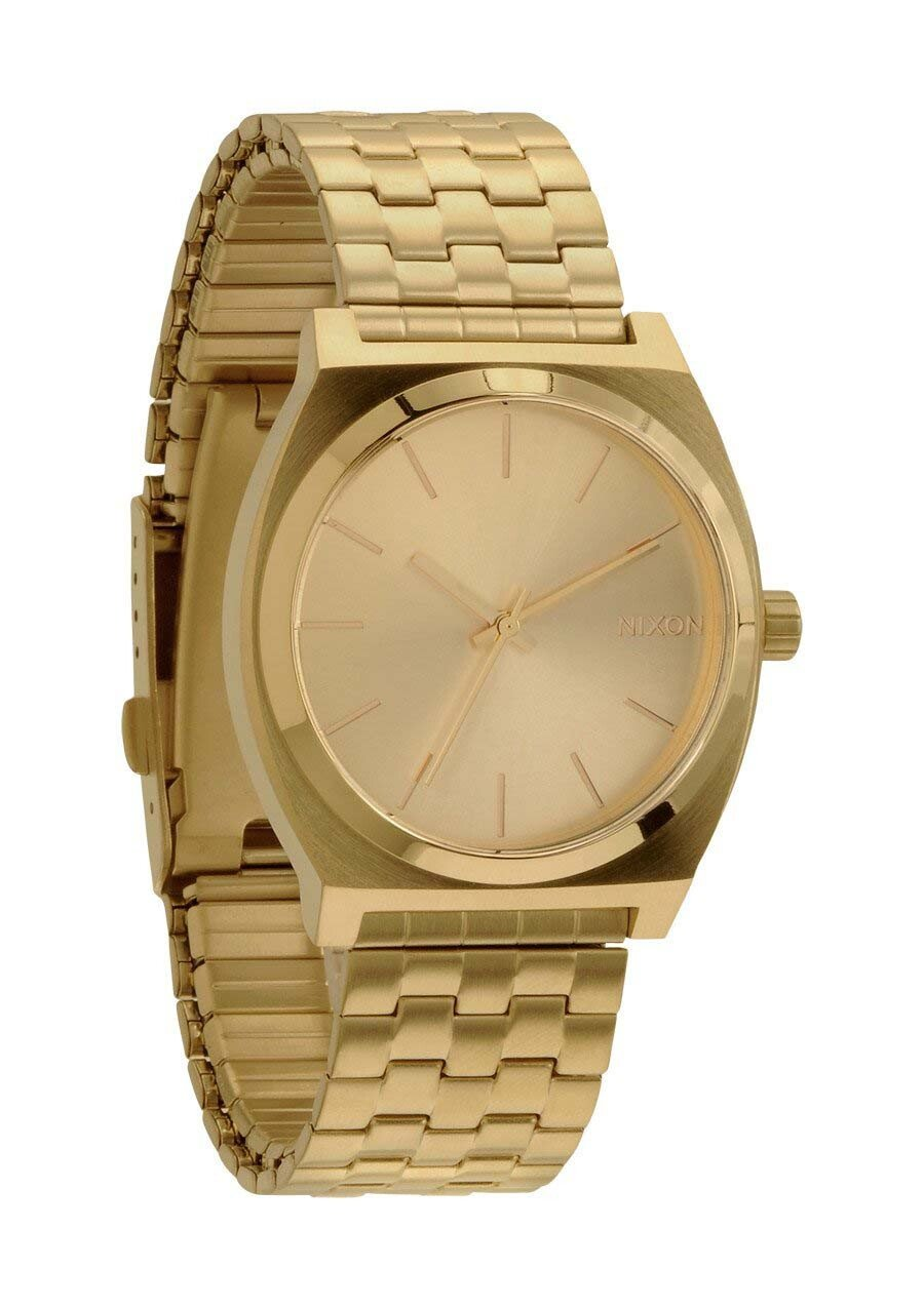 Zegarek damski All Gold Gold Nixon Time Teller A0451511