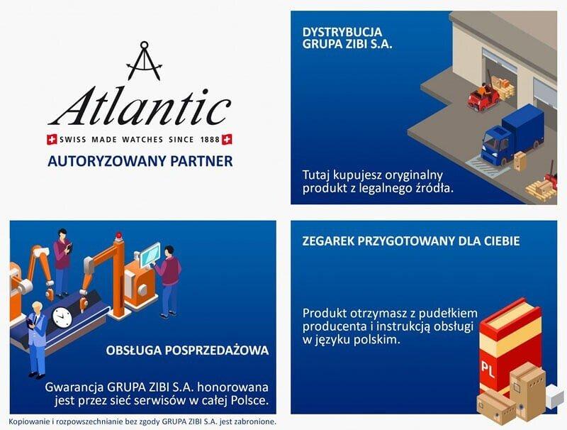 b12c939020d79a Zegarek damski Atlantic Elegance 29430-41-21 - Minuta.pl