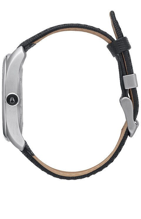 Zegarek damski Black Nixon Bullet Leather A4731000
