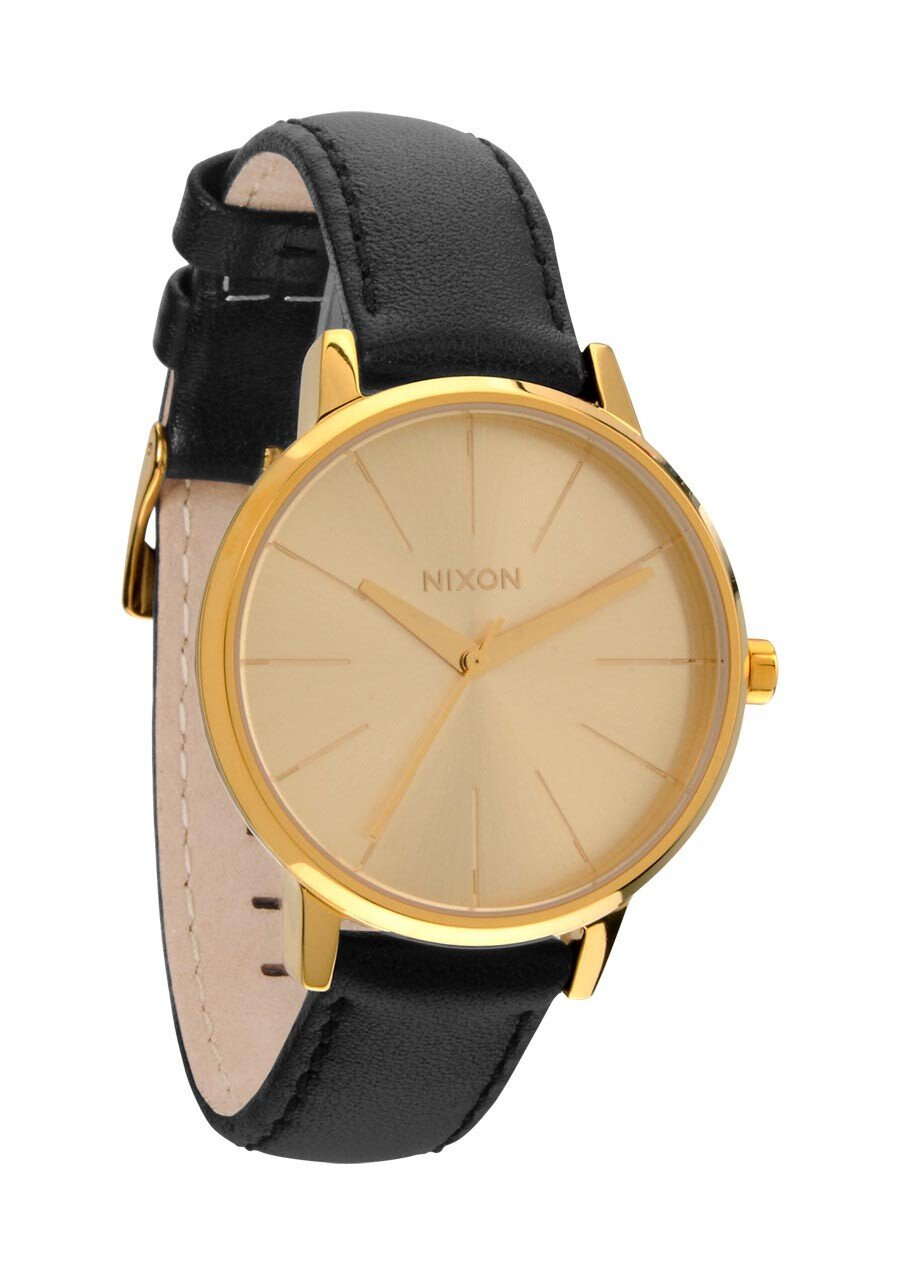 Zegarek damski Gold Nixon Kensington Leather A1081501