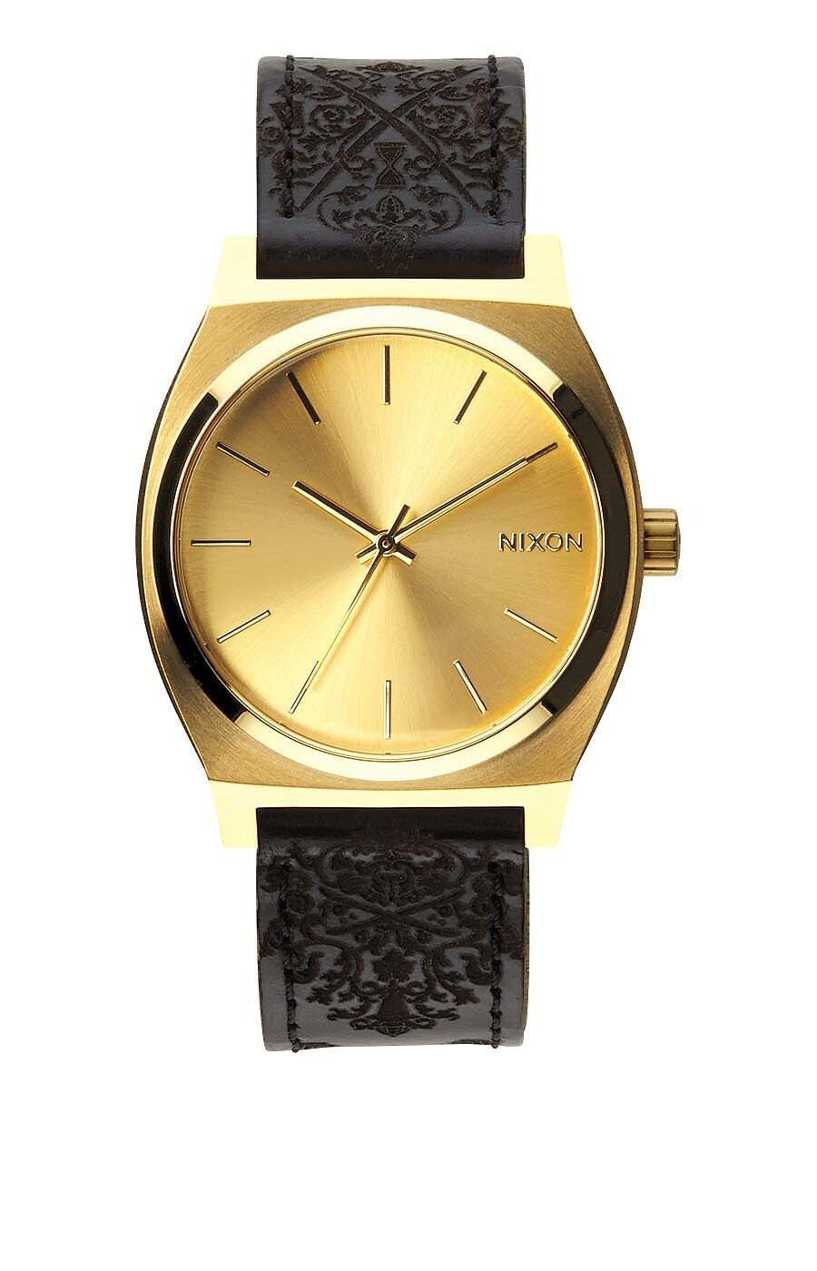 Zegarek damski Gold Ornate Nixon Time Teller A0451882