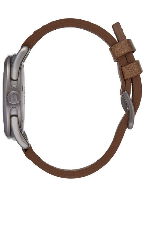 Zegarek damski Gunmetal Chestnut Nixon C39 Leather A4592067