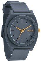 Zegarek damski Matte Steel Gray Nixon Time Teller P A1191244