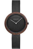 Zegarek damski Obaku Trae Lille V245LXBBMB