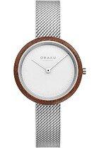 Zegarek damski Obaku Trae Lille V245LXCIMC