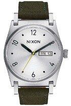 Zegarek damski Silver Surplus Nixon Jane Leather A9552232