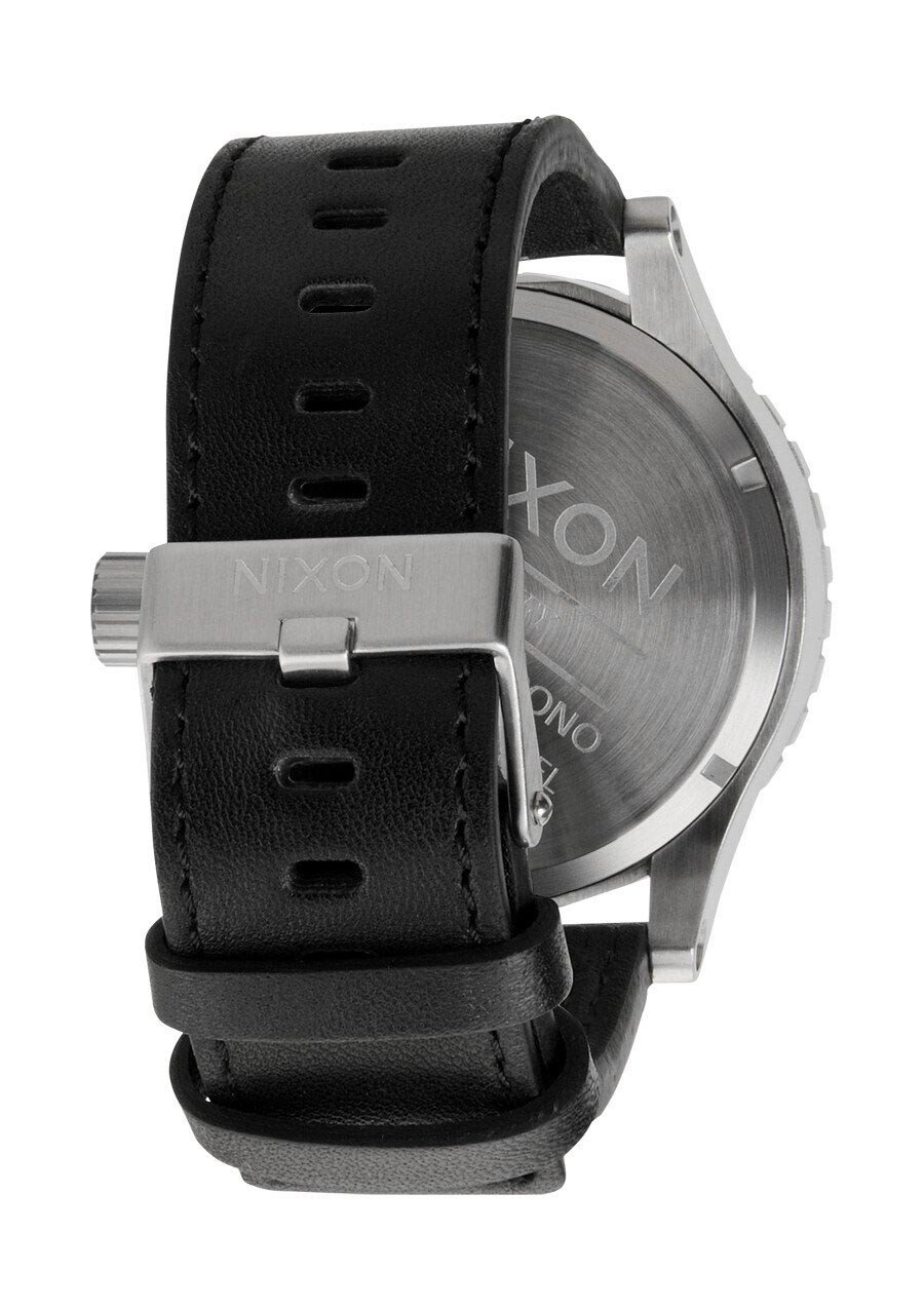 Zegarek męski All Black Nixon 51-30 Chrono leather A1241000