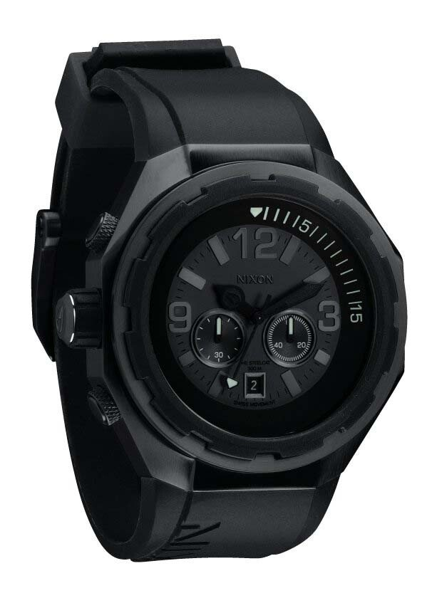 Zegarek męski All Black Nixon Steelcat A3131001
