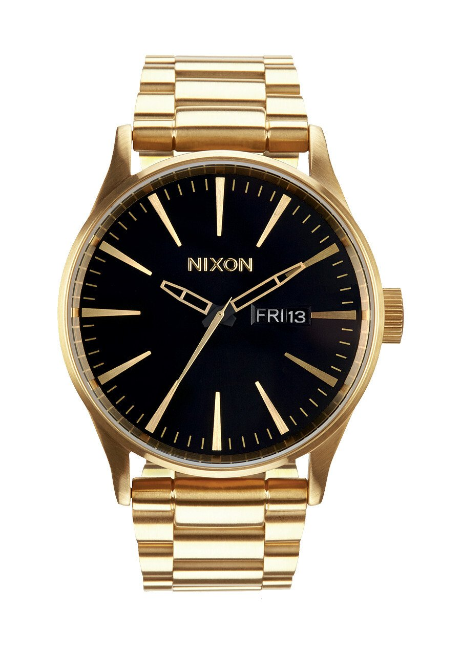 Zegarek męski All Gold Black Nixon Sentry SS A3561510