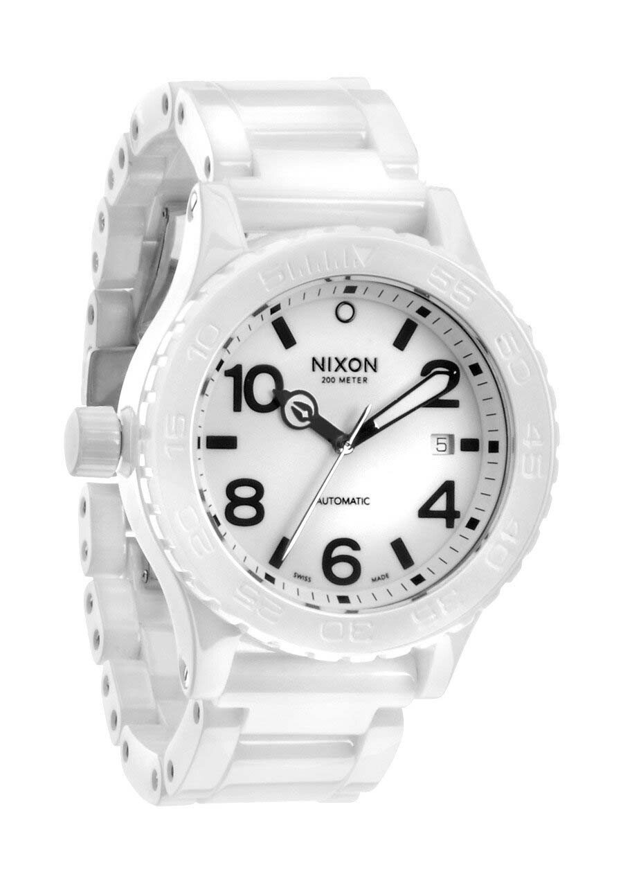 Zegarek męski All White Nixon 42-20 Ceramic A1481126