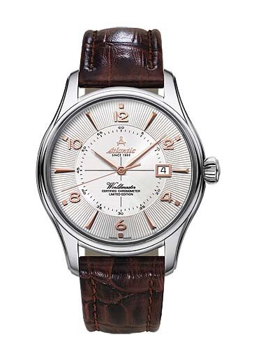 Zegarek męski Atlantic Worldmaster 1888 COSC Chronometer certified 52753-41-25R