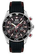 Zegarek męski Atlantic Worldmaster Diver Chronograph 55470-47-65RC