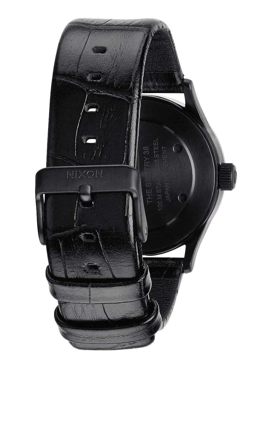 Zegarek męski Black Gator Nixon Sentry 38 Leather A3771886