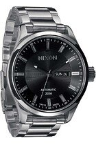 Zegarek męski Black Nixon Automatic II A2091000