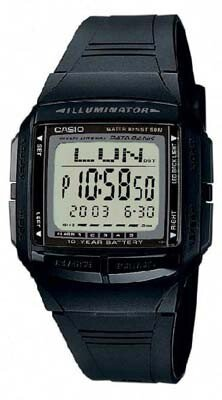 Zegarek męski Casio Data Bank DB-36-1A