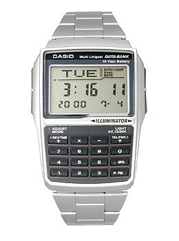 Zegarek męski Casio Data Bank DBC-32D-1AEF
