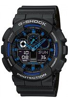 Zegarek męski Casio G-Shock Standard Analog-Digital GA-100-1A2ER