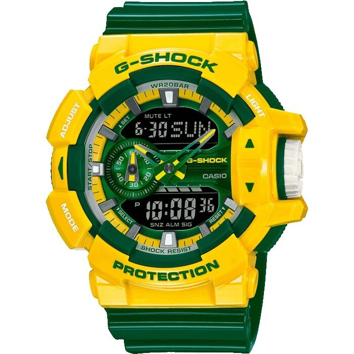 Zegarek męski Casio G-Shock Standard Analog-Digital GA-400CS-9AER