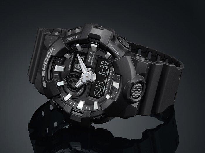3dff760718da Zegarek męski Casio G-Shock Standard Analog-Digital GA-700-1BER ...
