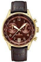 Zegarek męski Delbana Retro Chronograph 42601.672.6.104