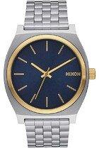 Zegarek męski Gold Blue Sunray Nixon Time Teller A0451922