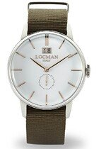Zegarek męski Locman 1960 Classic 0252V08-00WHRGNG