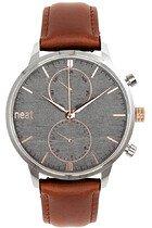 Zegarek męski Neat Stalowy Chrono 42 N150