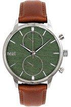 Zegarek męski Neat Stalowy Chrono 42 N151