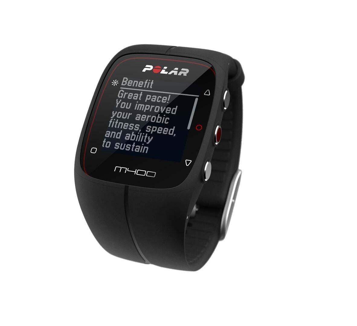 30ad2b45 Zegarek sportowy GPS z pulsometrem (czarny) Polar M400 HR - Minuta.pl