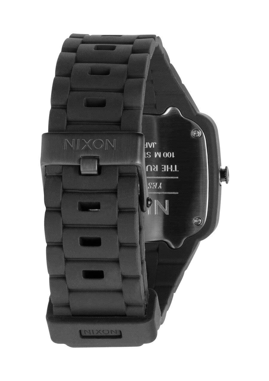 Zegarek unisex All Black Pink Nixon Rubber Player A1391871