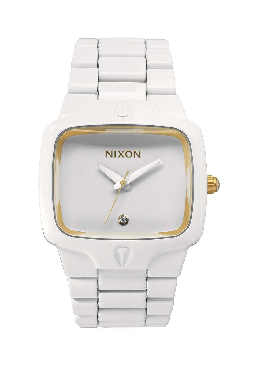 Zegarek unisex All White Gold Nixon Player A1402035