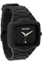 Zegarek unisex Black Nixon Rubber Player A1391000