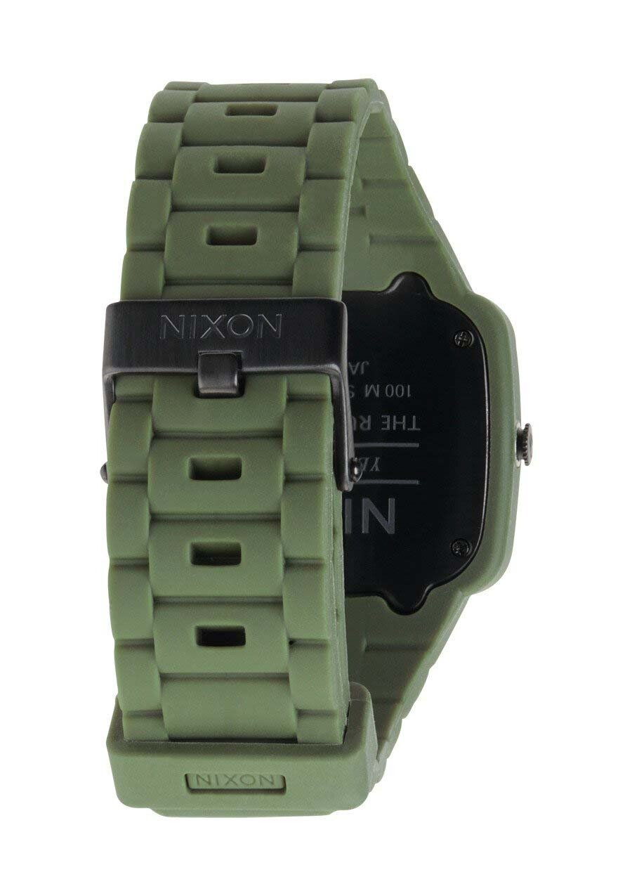 Zegarek unisex Matte Black Surplus Nixon Rubber Player A1392042