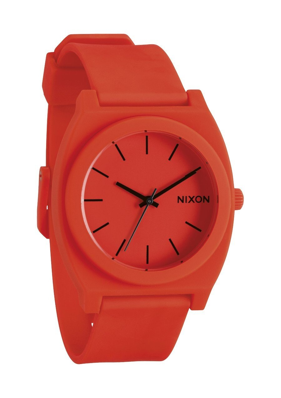 Zegarek unisex Neon Orange Nixon Time Teller P A1192156