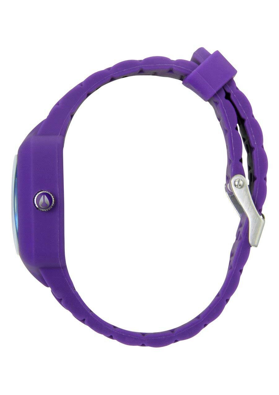 Zegarek unisex Purple Nixon Rubber Player A1391230