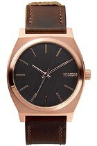 Zegarek unisex Rose Gold Gunmetal Brown Nixon Time Teller A0452001