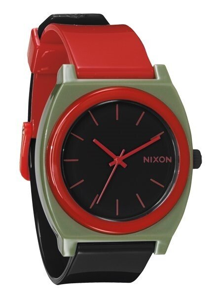 Zegarek unisex Surplus Black Red Nixon Time Teller P A1192048